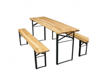 Table et bancs